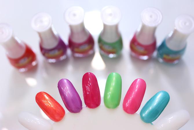 01 - swatch esmaltes beauty color coleção turma da monica