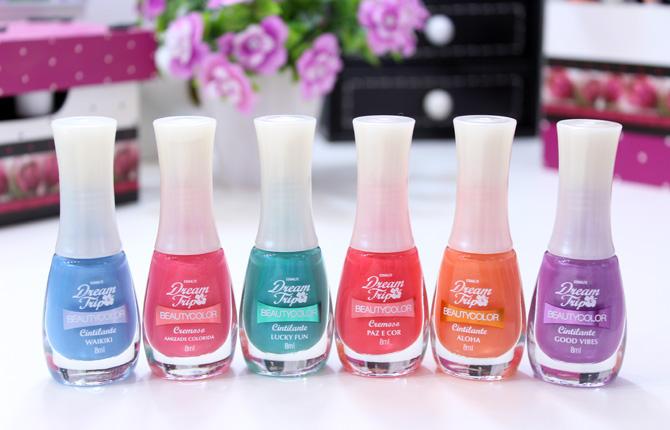 02 - esmaltes beauty color coleção dream trip