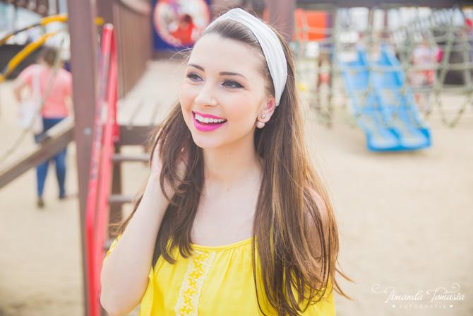 05 - look blusa amarela parque barra sul balneário camboriú