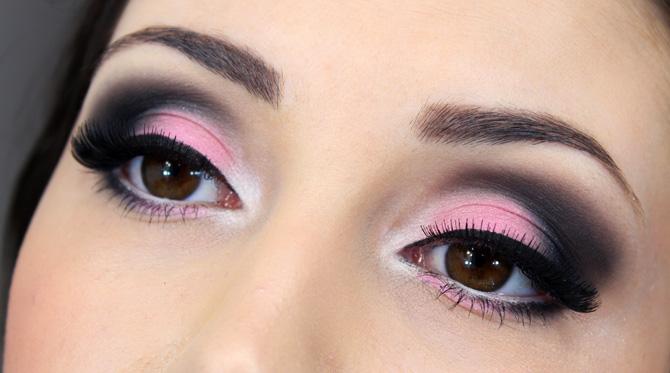 06 - maquiagem especial outubro rosa para noite