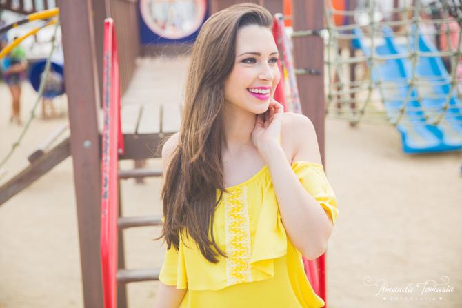 07 - look blusa amarela parque barra sul balneário camboriú