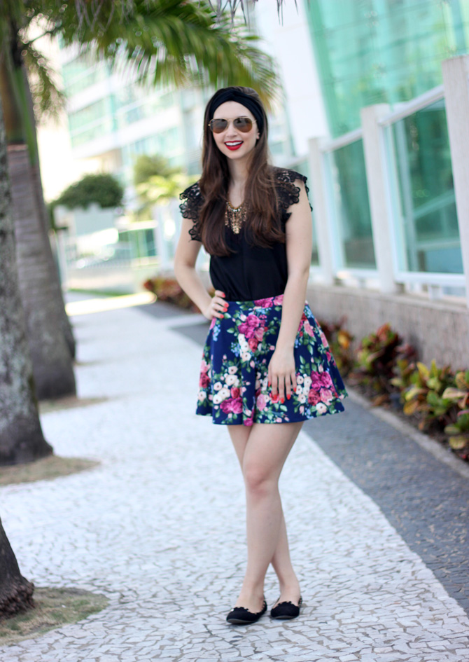 06 - look do dia saia florida sempre glamour jana taffarel