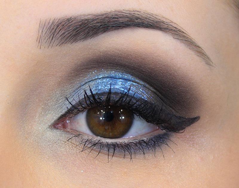 1-maquiagem em tons azul com glitter jana taffarel blog sempre glamour