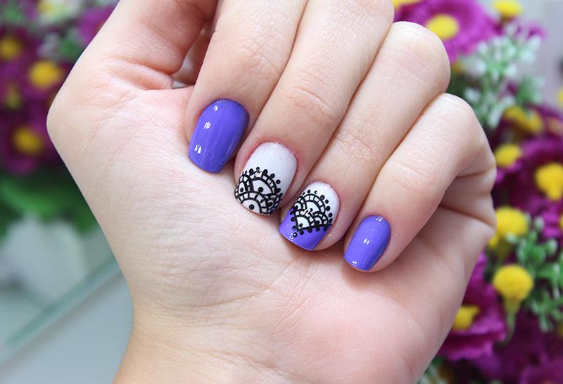1-unhas decoradas com traços livres dicas jana taffarel blog sempre glamour