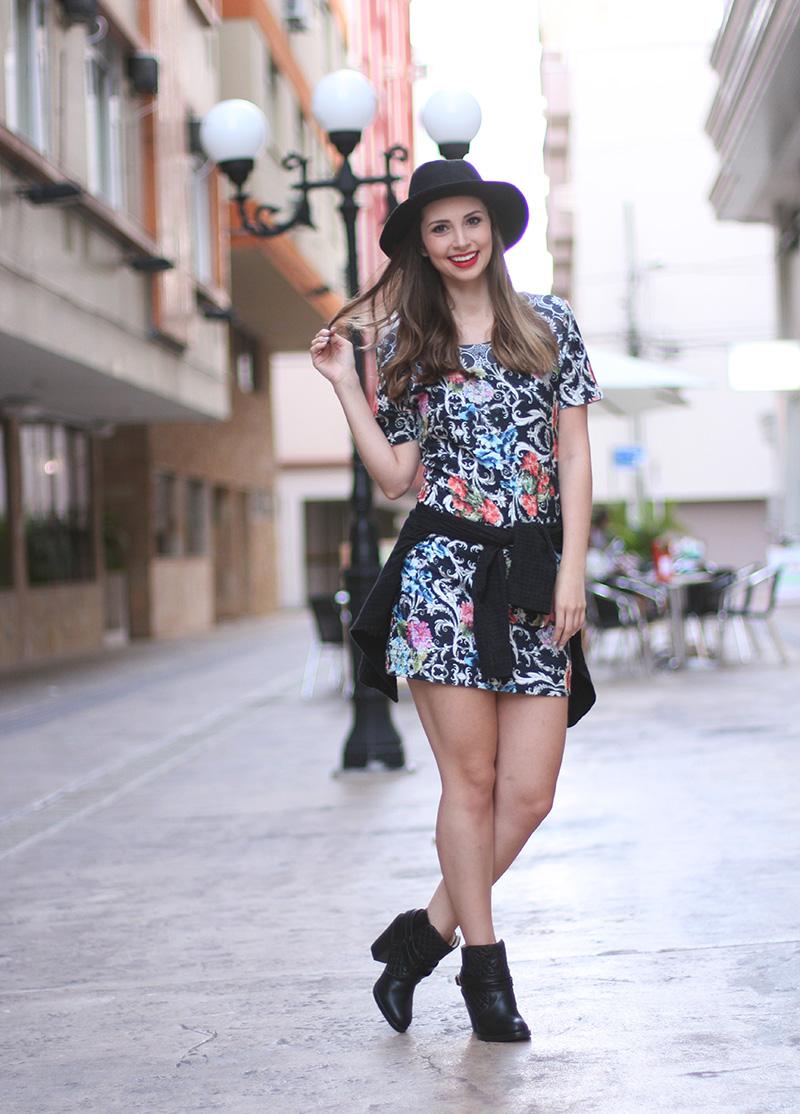 3-look do dia vestido bota e chapeu jana taffarel blog sempre glamour ... 9f68631bf82