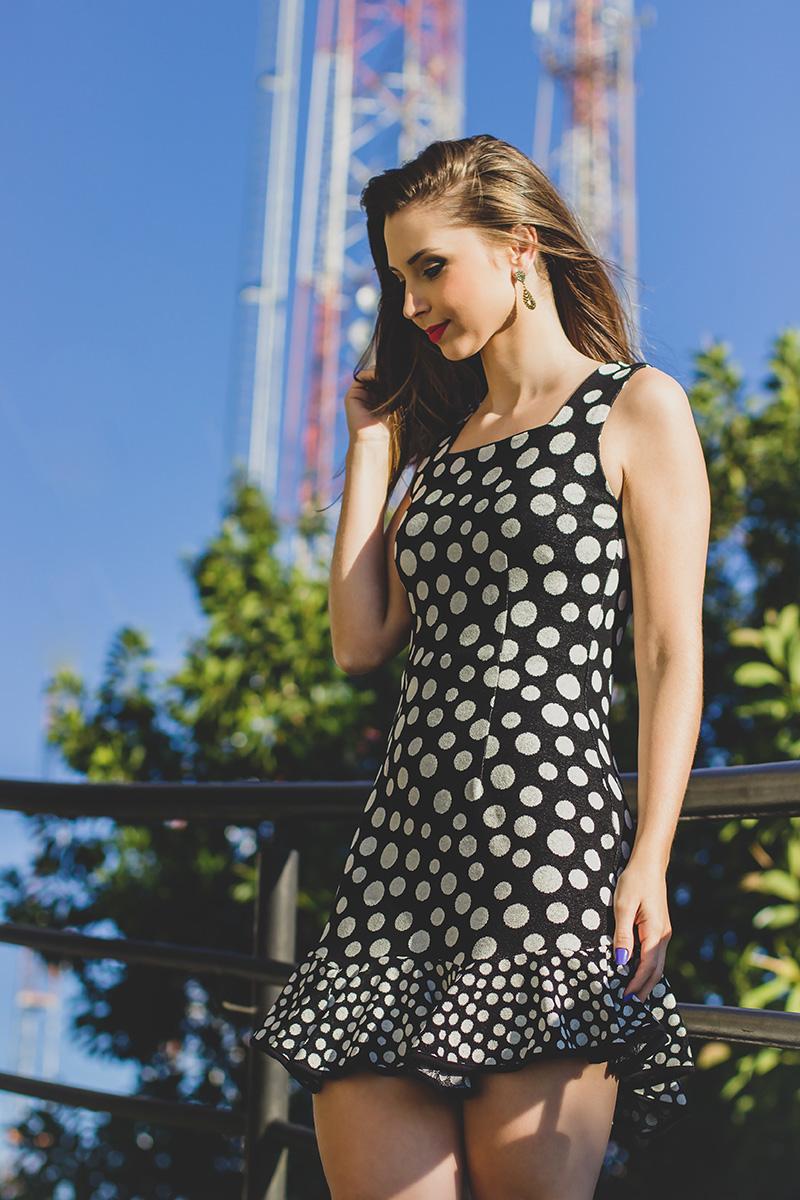 3-look vestido de bolinha preto e branco jana taffarel blog sempre glamour
