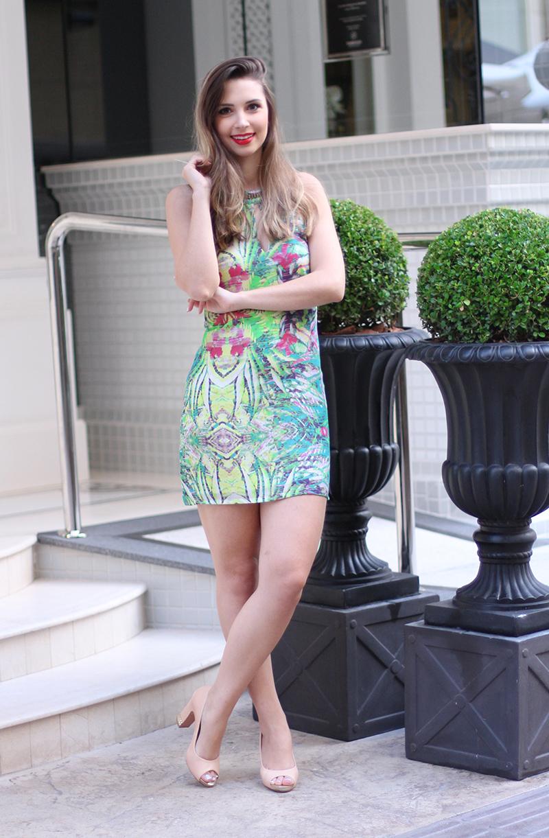 3-vestido estampado frente única naguchi