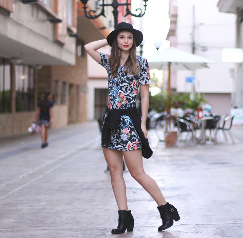 4-look do dia vestido bota e chapeu jana taffarel blog sempre glamour