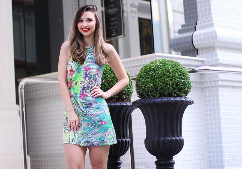 4-vestido estampado frente única naguchi