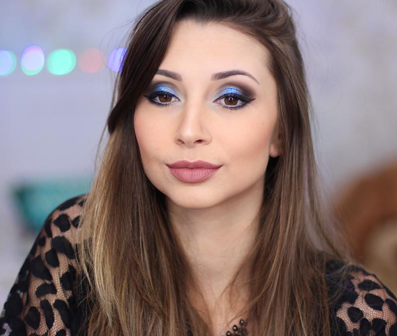 5-maquiagem em tons azul com glitter jana taffarel blog sempre glamour