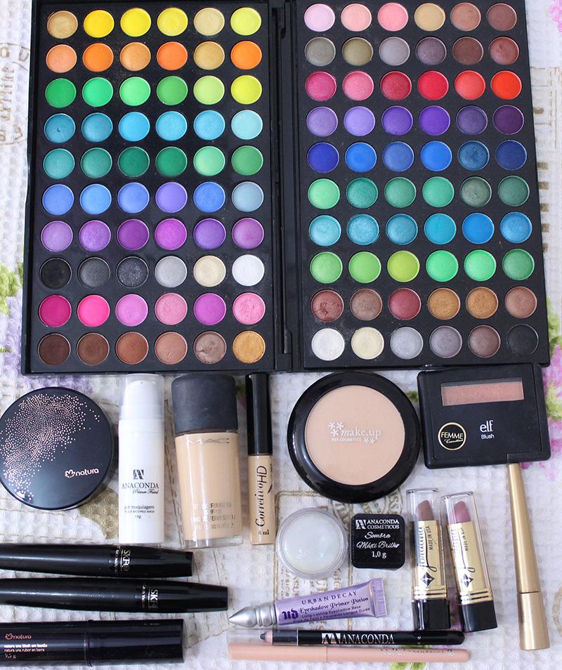 6-maquiagem em tons azul com glitter jana taffarel blog sempre glamour