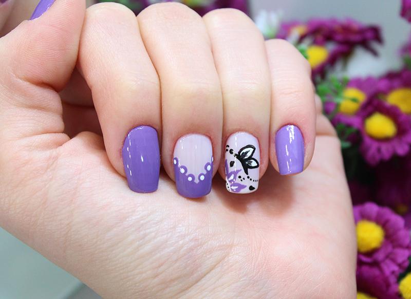 1-unhas decoradas com borboleta jana taffarel sempre glamour