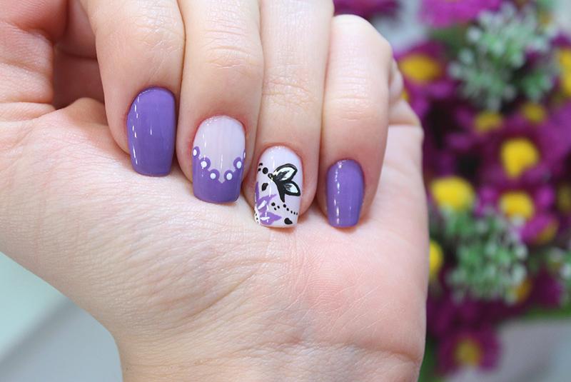 2-unhas decoradas com borboleta jana taffarel sempre glamour