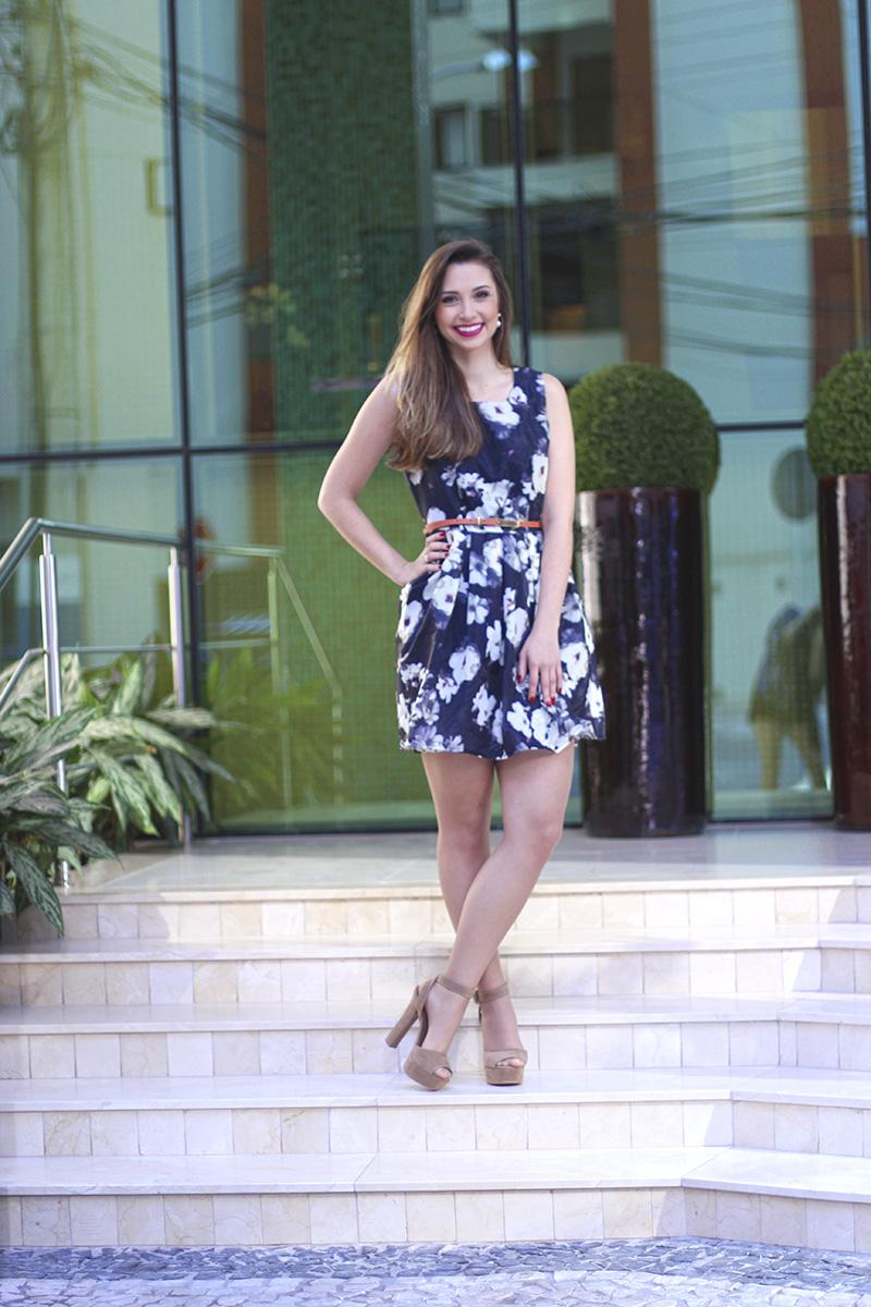 1-vestido florido sheinside
