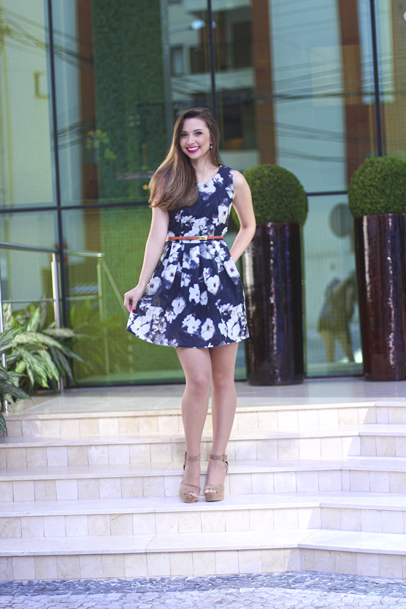 2-vestido florido sheinside