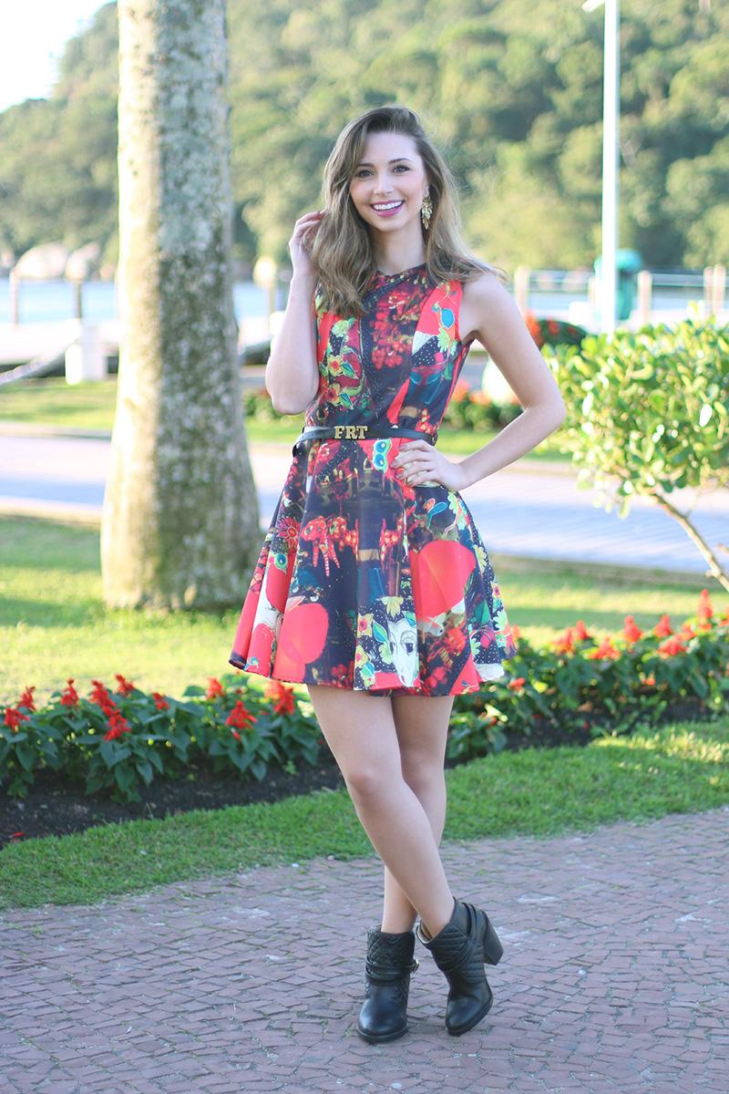 3-look do dia vestido fruto da imaginação