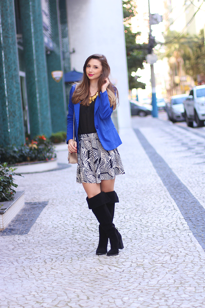 5-look do dia com blazer azul bic
