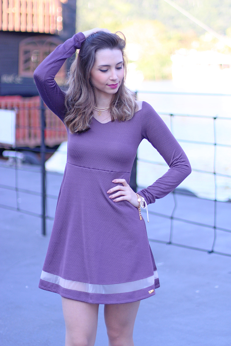 5-look vestido com coturno jana taffarel