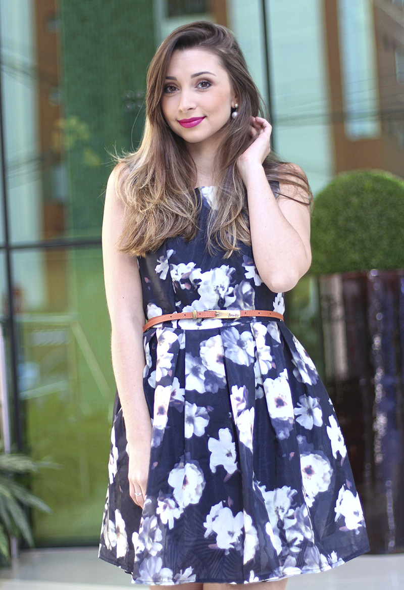 7-vestido florido sheinside