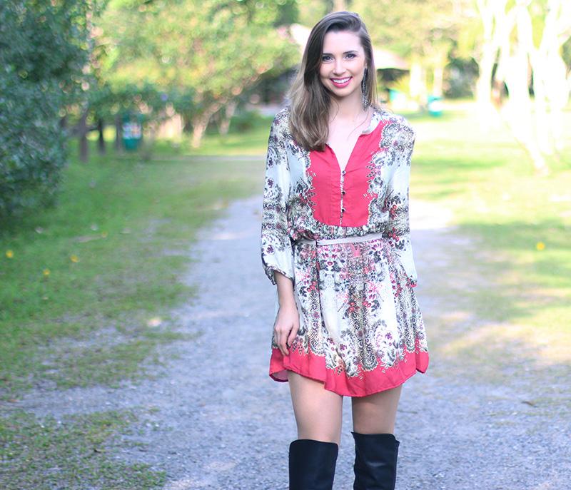 1-vestido estampado com rosa sly look jana taffarel