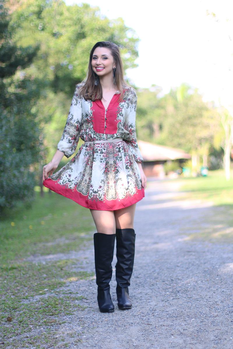 3-vestido estampado com rosa sly look jana taffarel