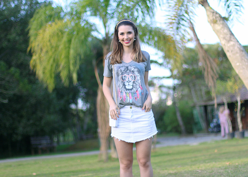 6-look do dia verão 2016 saia jeans branca lunender