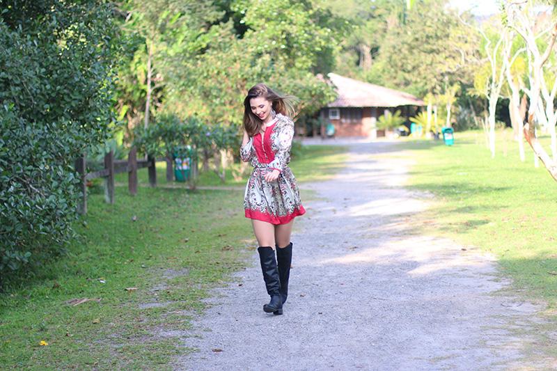 7-vestido estampado com rosa sly look jana taffarel