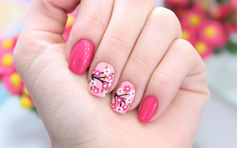 HD wallpapers unhas decoradas de flores