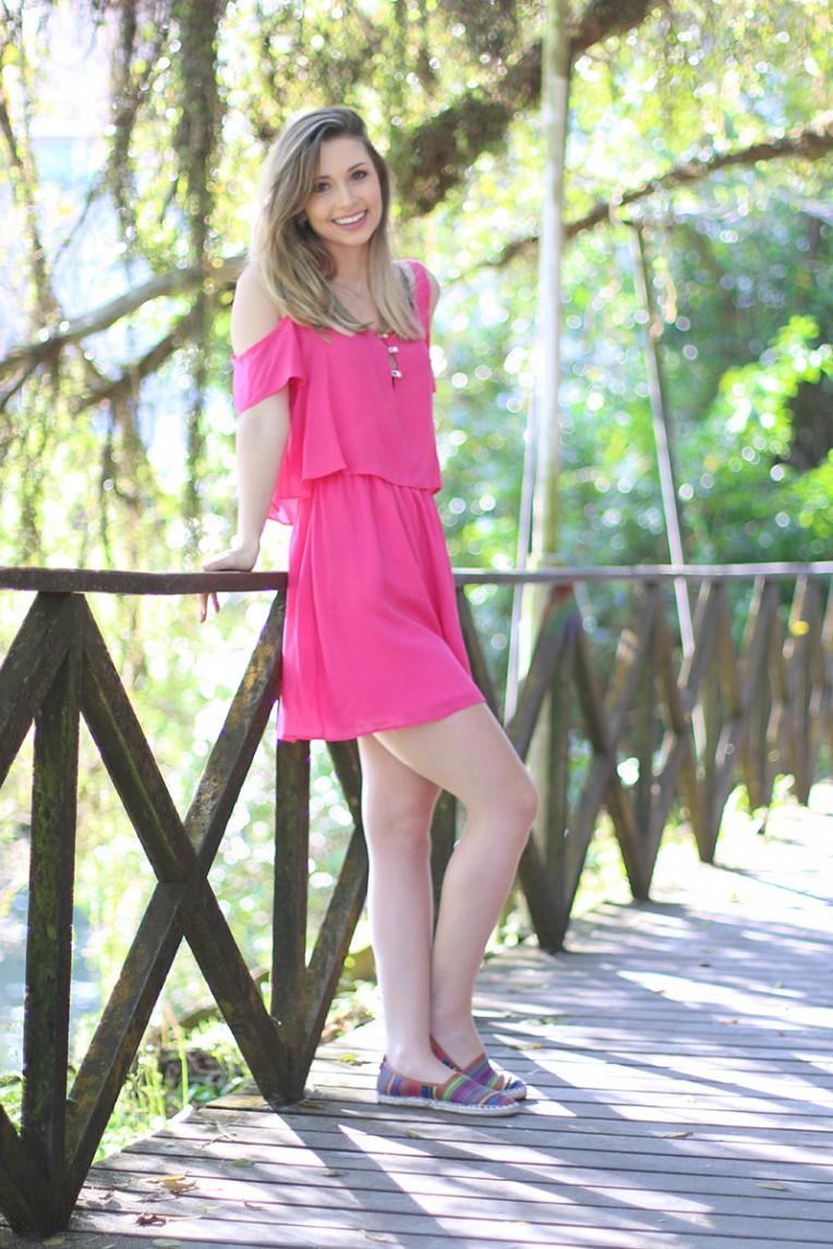 3-look do dia vestido rosa ciganinha pkd concept