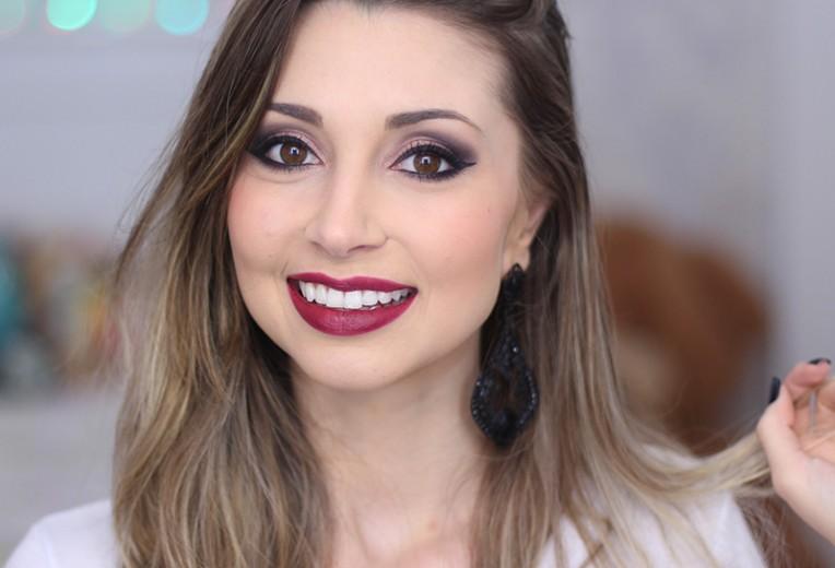 3-maquiagem usando produtos da eudora jana taffarel