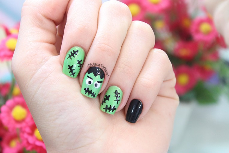 3-unhas decoradas para halloween