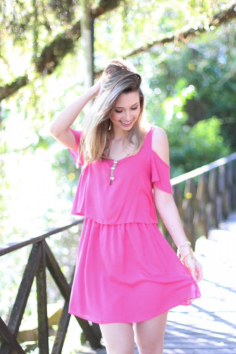 7-look do dia vestido rosa ciganinha pkd concept