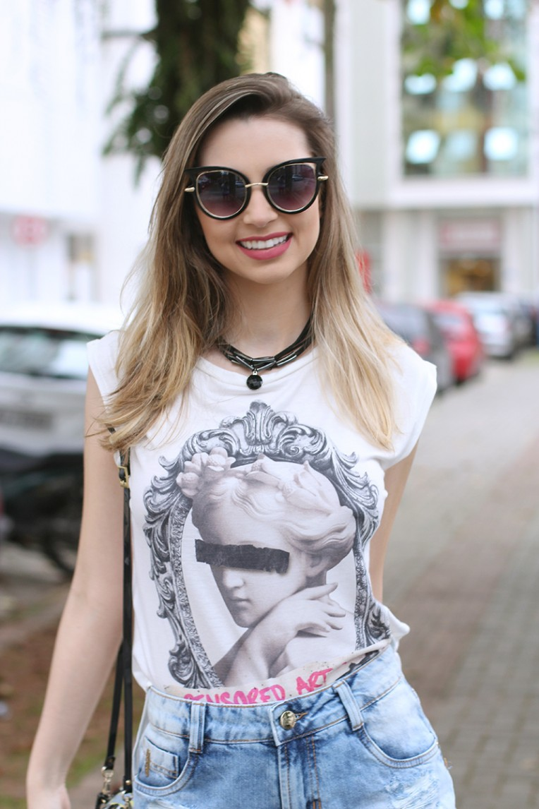 10-look do dia - shorts jeans