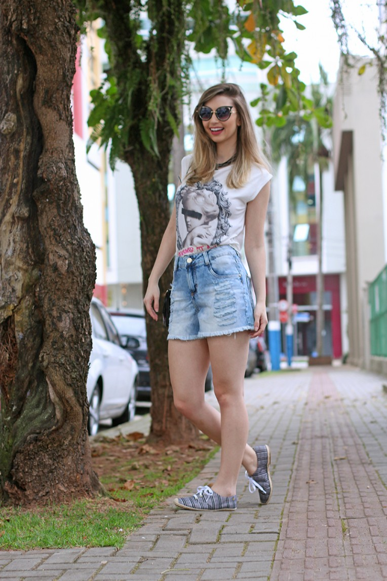 2-look do dia - shorts jeans