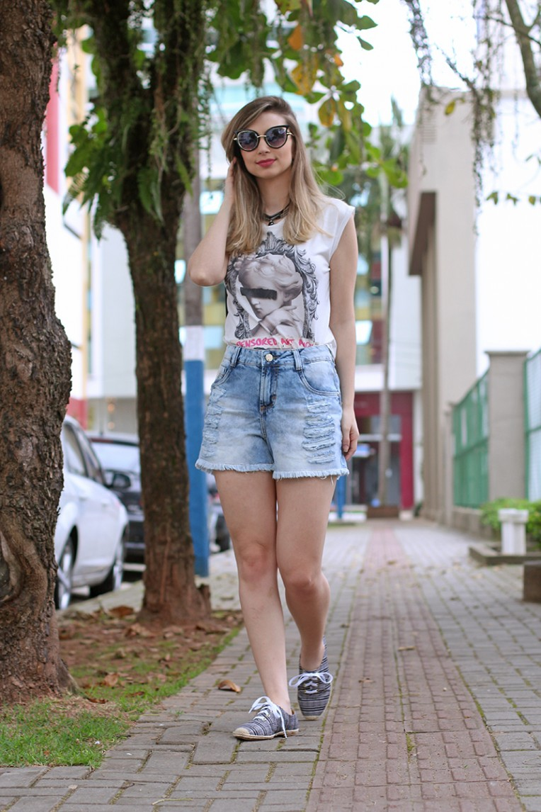 3-look do dia - shorts jeans