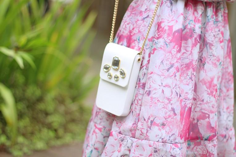 5-vestido estampado rosa para o verão