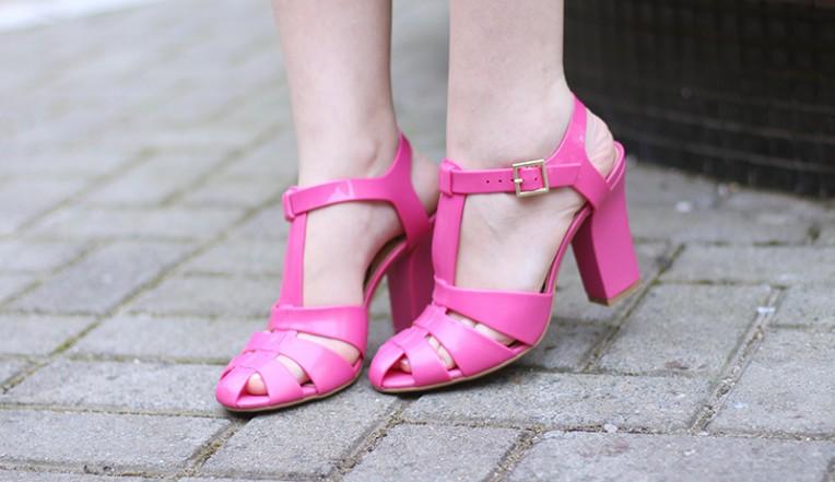 6-vestido estampado rosa para o verão