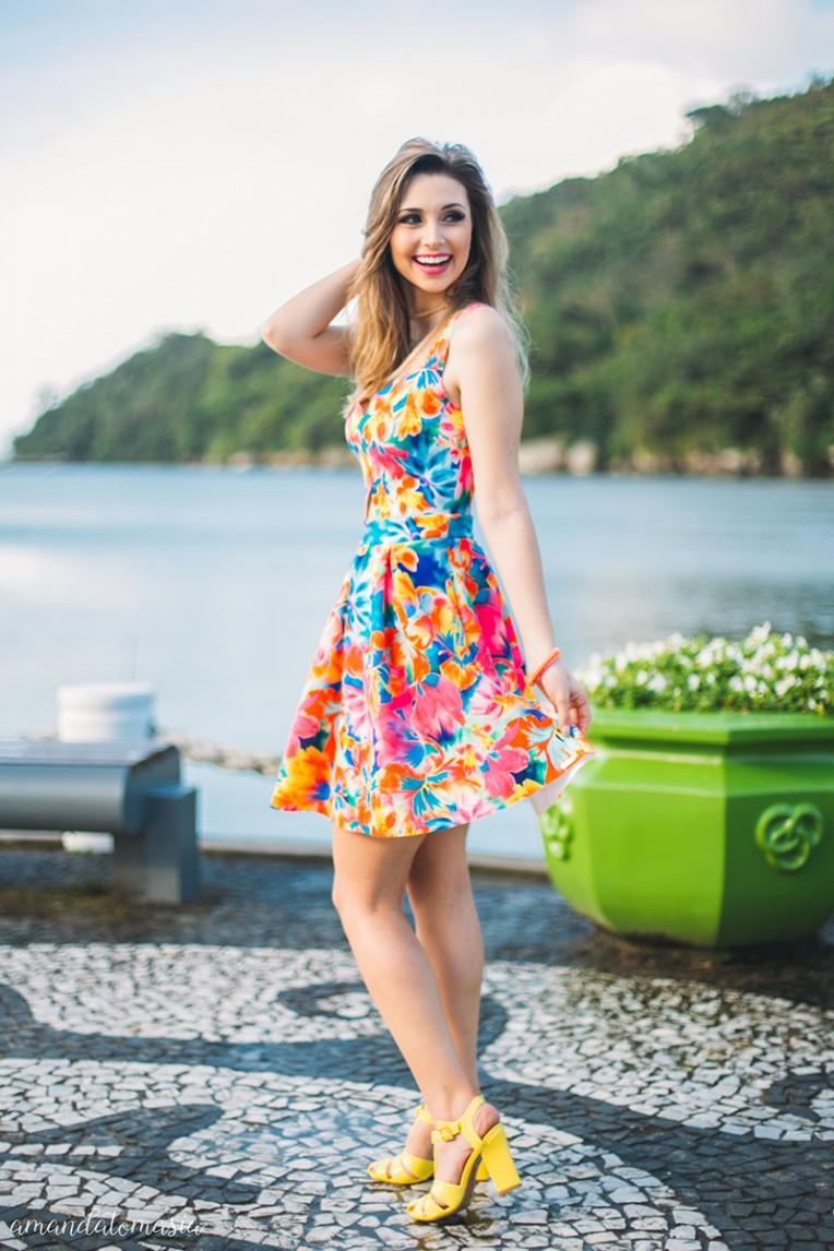 2-looks coloridos para o verão