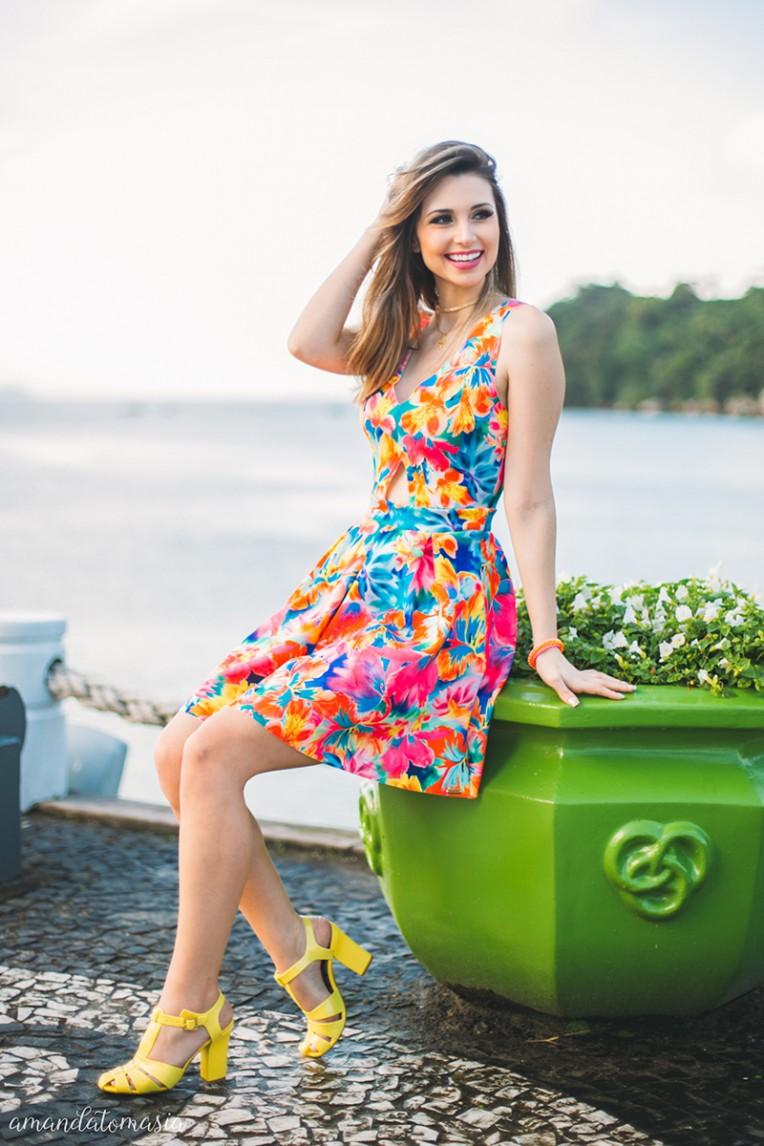 3-looks coloridos para o verão