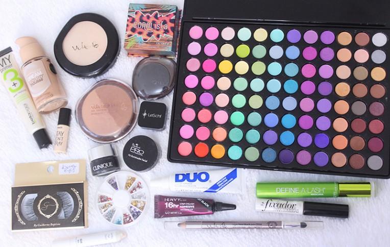 5-maquiagem colorida para o carnaval 2016