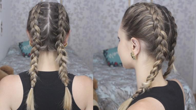 3-trança de boxeadora - boxer braids