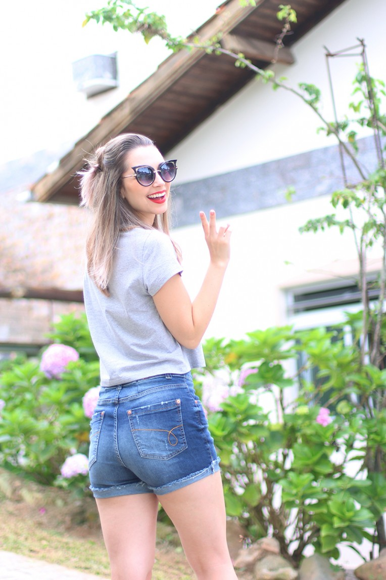 5-look cintura alta e cropped