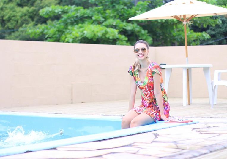 5-vestido colorido para o verão - naguchi jana taffarel