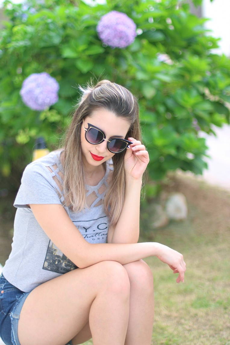 6-look cintura alta e cropped