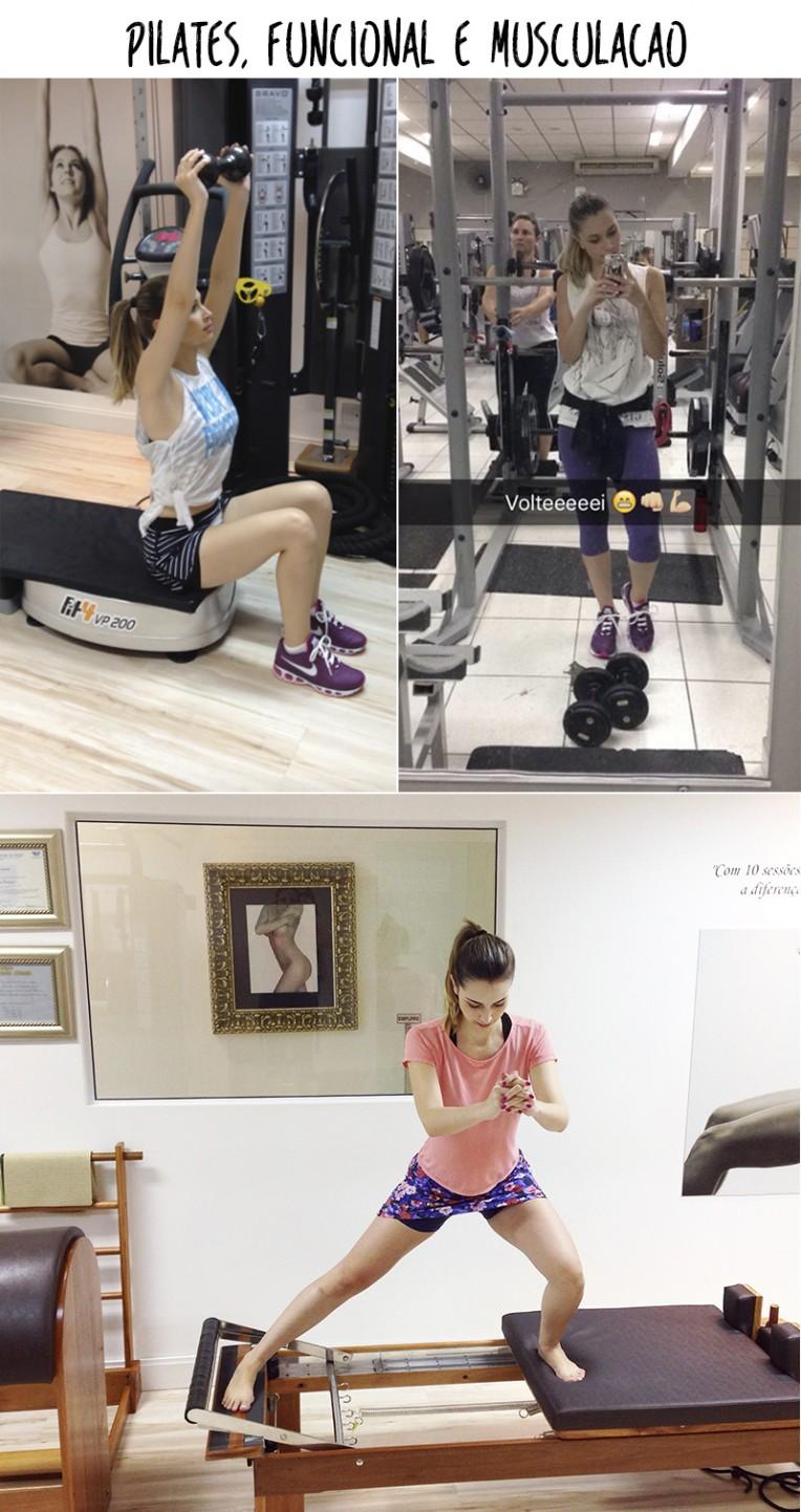 pilates funcional e musculação