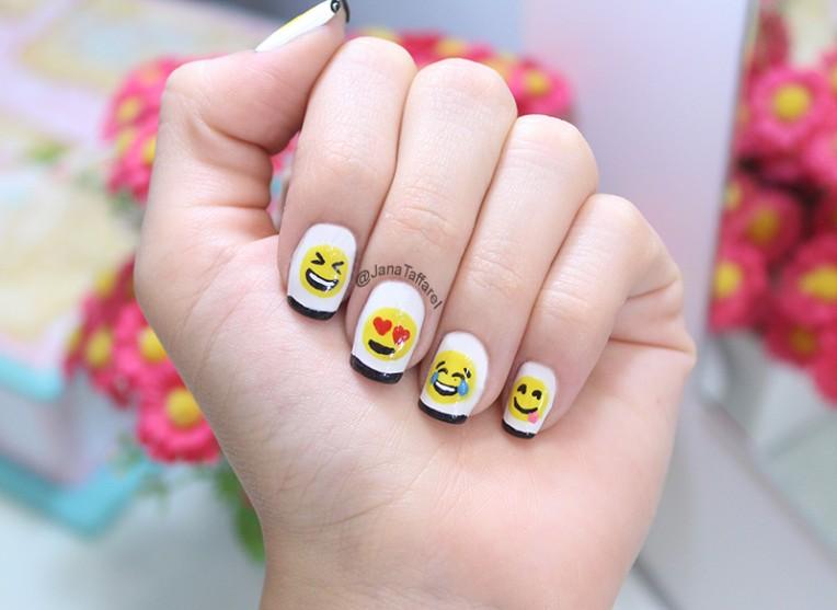 2.1-unhas decoradas de emoji