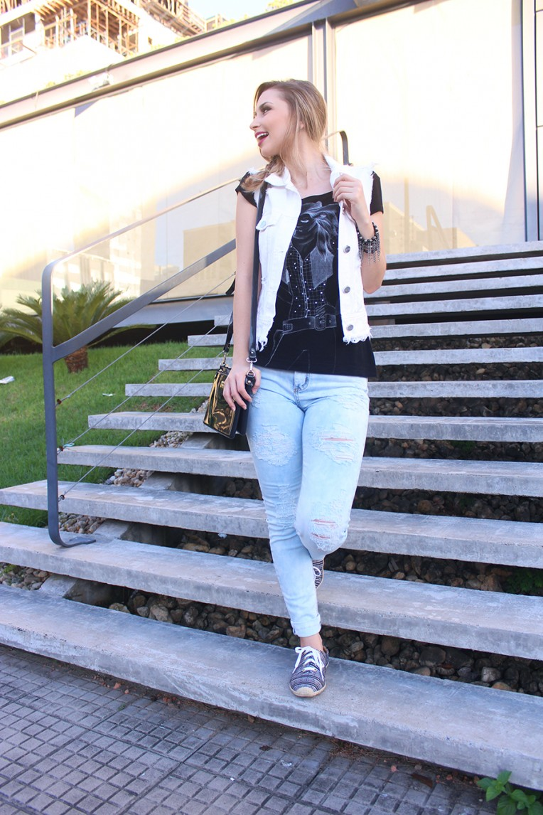 4-look outono com calça e colete