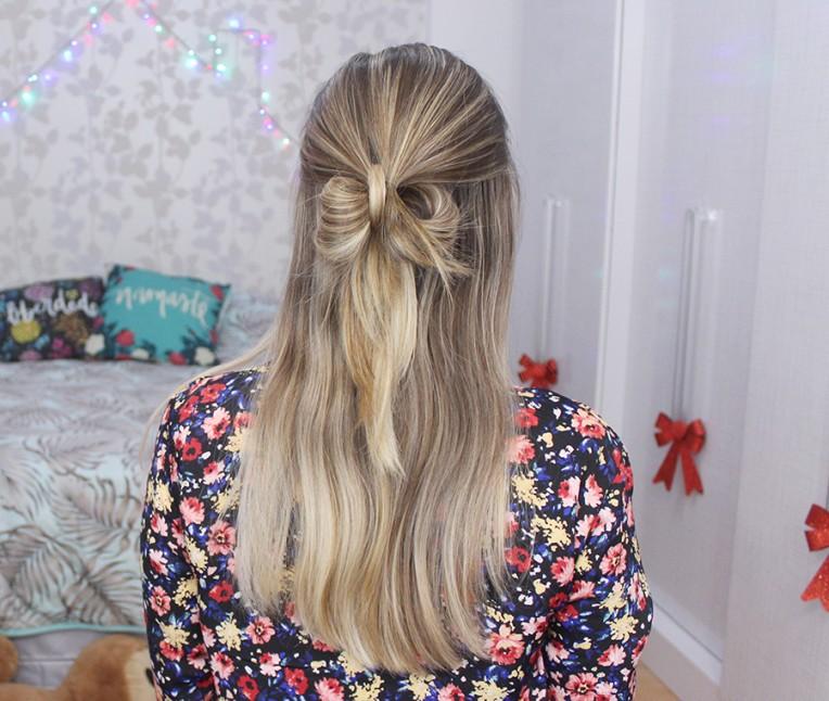 3-laço com o próprio cabelo