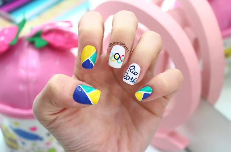 1unhas decoradas olimpíadas rio 2016