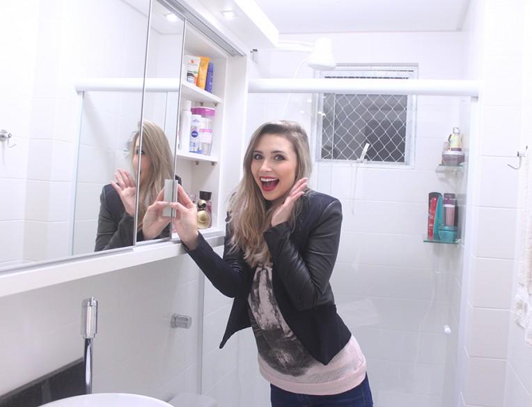 tour pelo banheiro